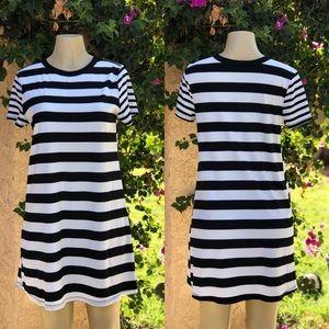SO Striped Shift Dress XL